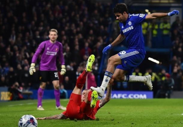 Diego Costa Pria Yang Bekerja Keras Demi Chelsea